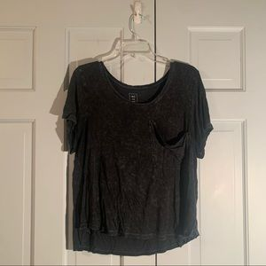Pacsun Me to We Grey T Shirt with Pocket